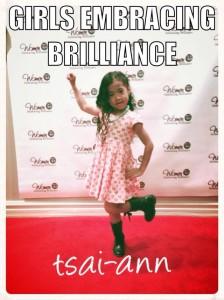 Girls Embracing Brilliance